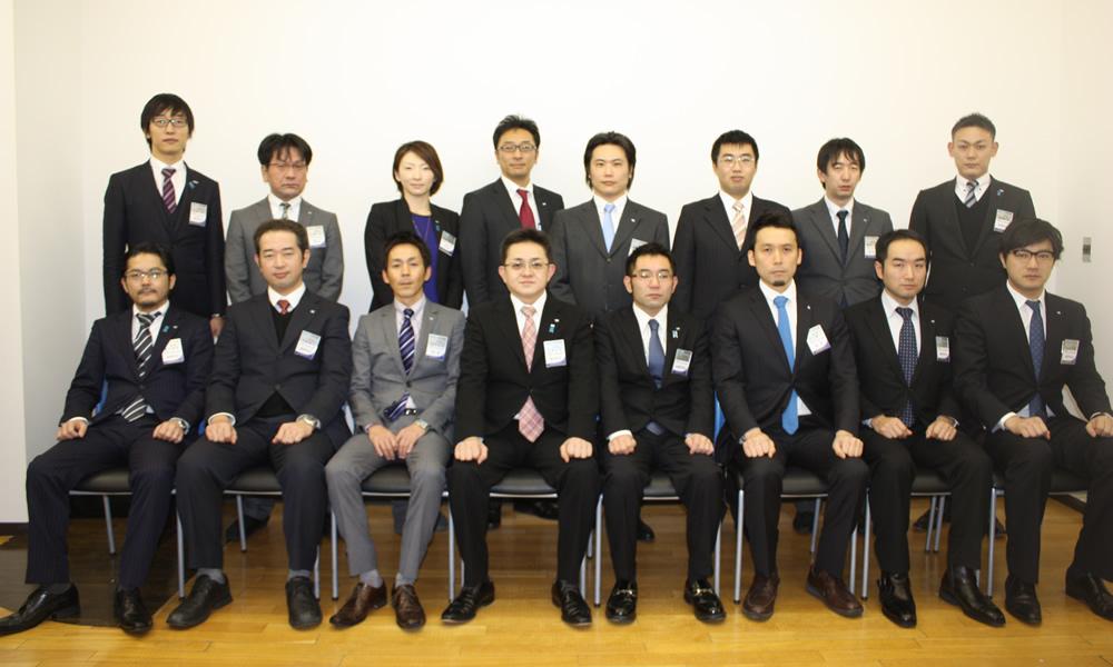 事務所開き:2013年度 一般社団法人新潟青年会議所 正副理事会構成メンバー