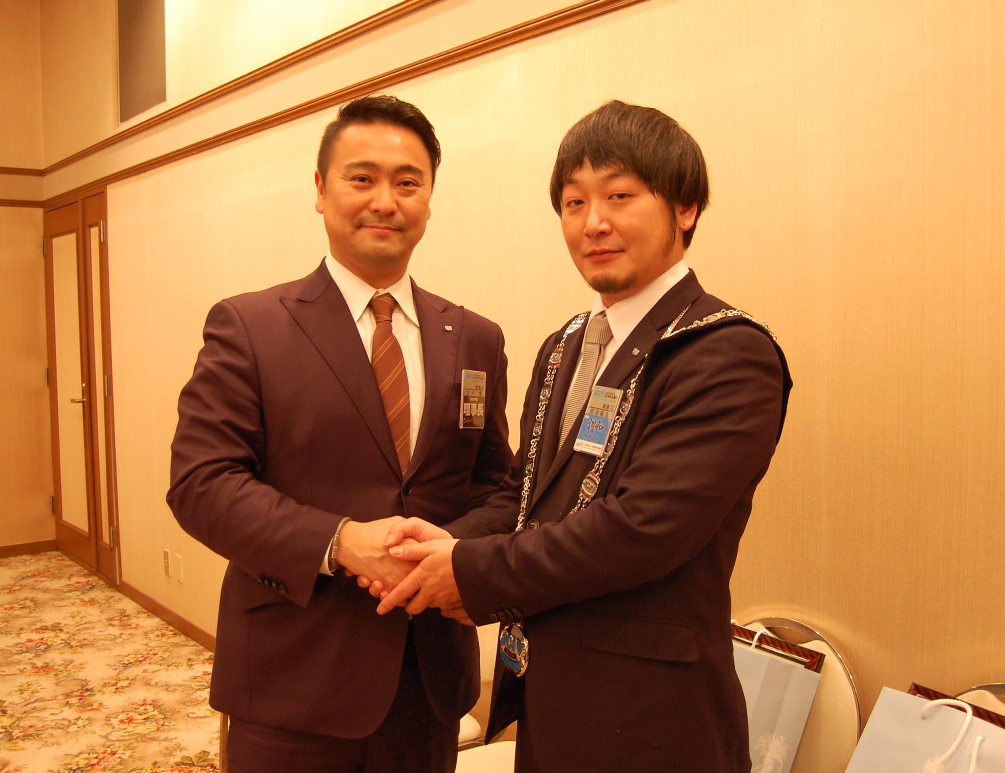 新津JC新年会 (2)